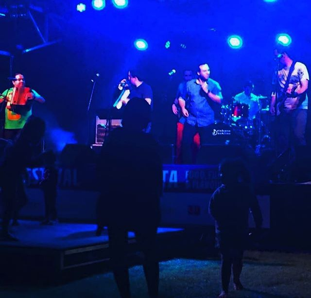 On stage at the @ipswich_festival 2018 . .  #izalcoholics #dancing to our #caliente sounds #muchasgracias #thankyou #ipswichfestival  #instamusic #latin #livemusic #musicislife #australia #colombia #elsalvador #livinglavidaizalco #mundoizalco #Izalconation #brochachos #brisbane #australia