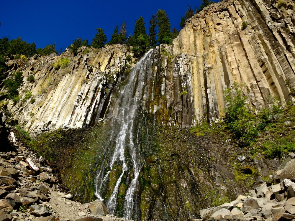 Palisade Falls in Hyalite