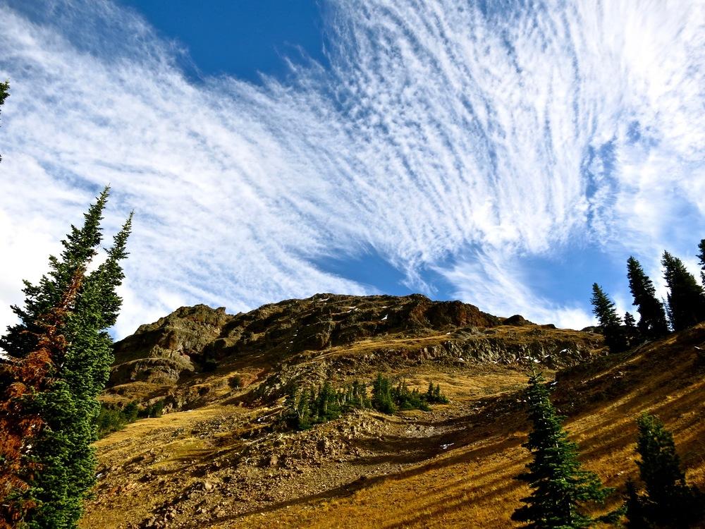 Sheep Mountain on the way to Blackmore Peak