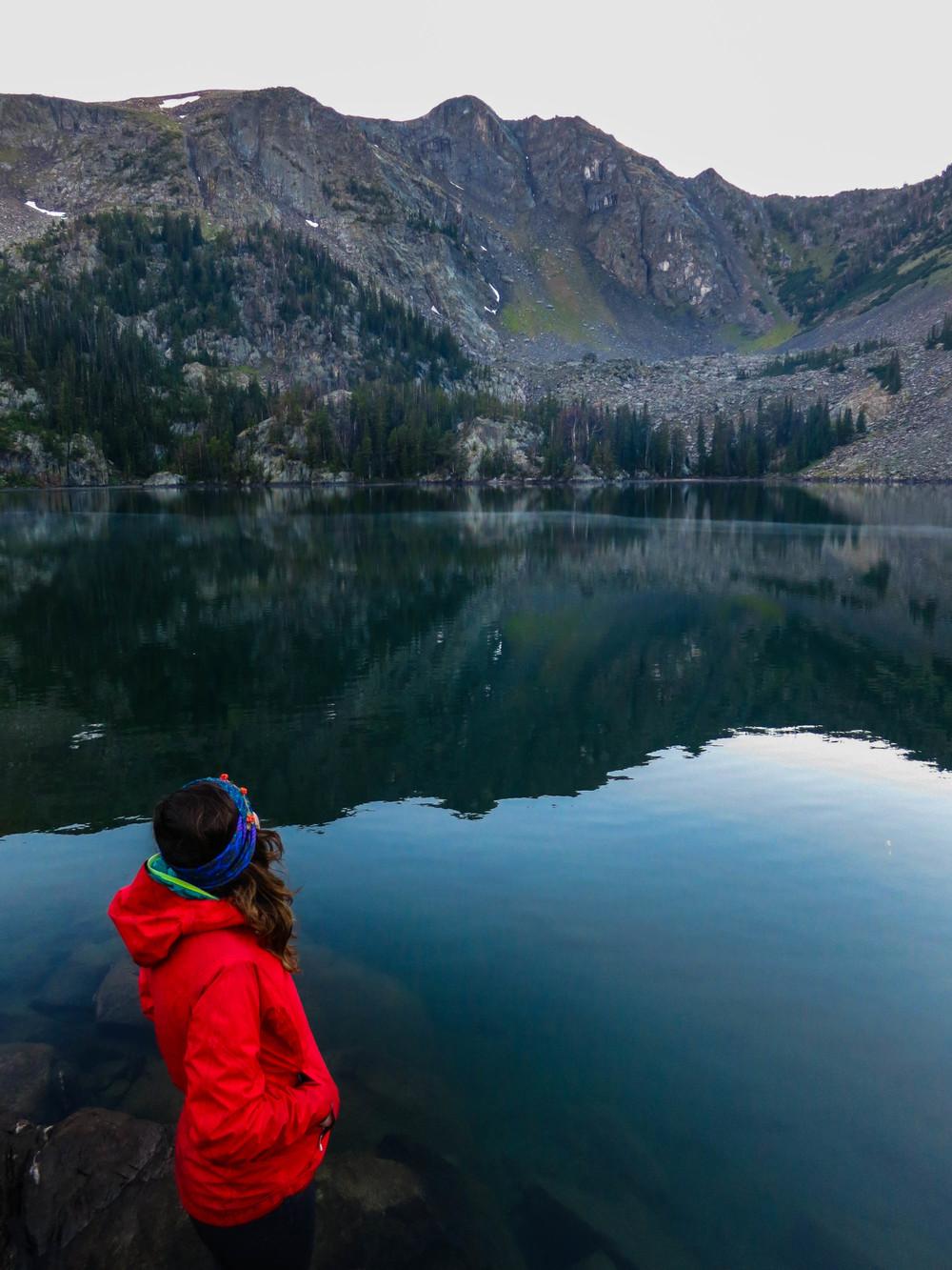 Sheep Lake in Henry's Lake Mountains