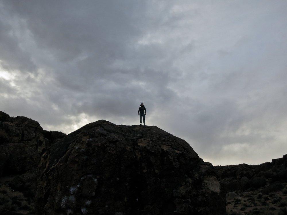 woman climber outdoors