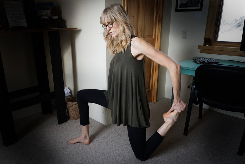 health and wellness stretches to do at home