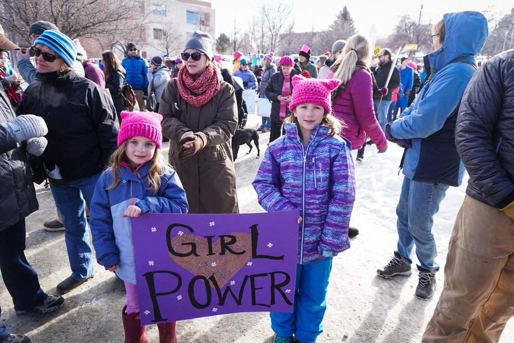 womens march girl power