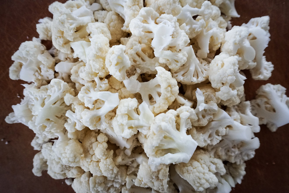 low carb rice made with cauliflower