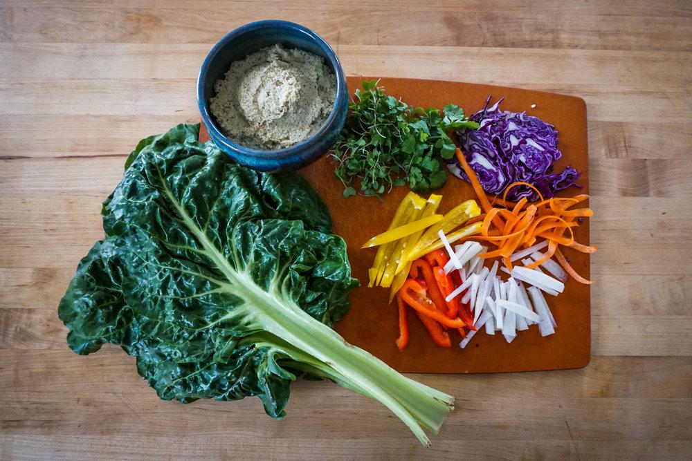healthy easy wraps raw gluten free paleo friendly