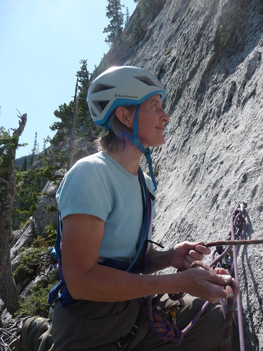 Kristen Drumheller Montana climbing