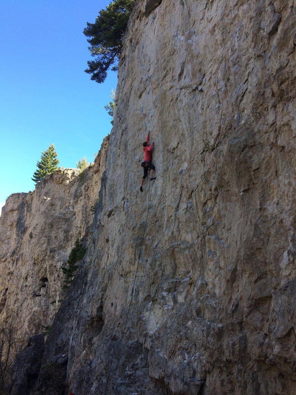Climbing Montana