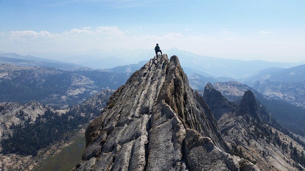 Rachel in Yosemite. Photo by Greta Mills.