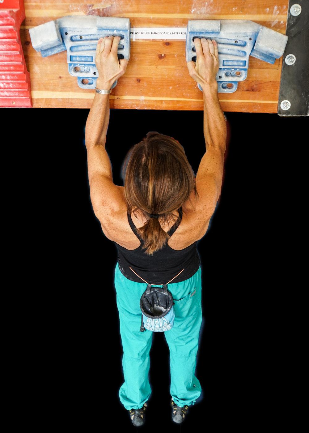 Jeannie blue hangboard.jpg