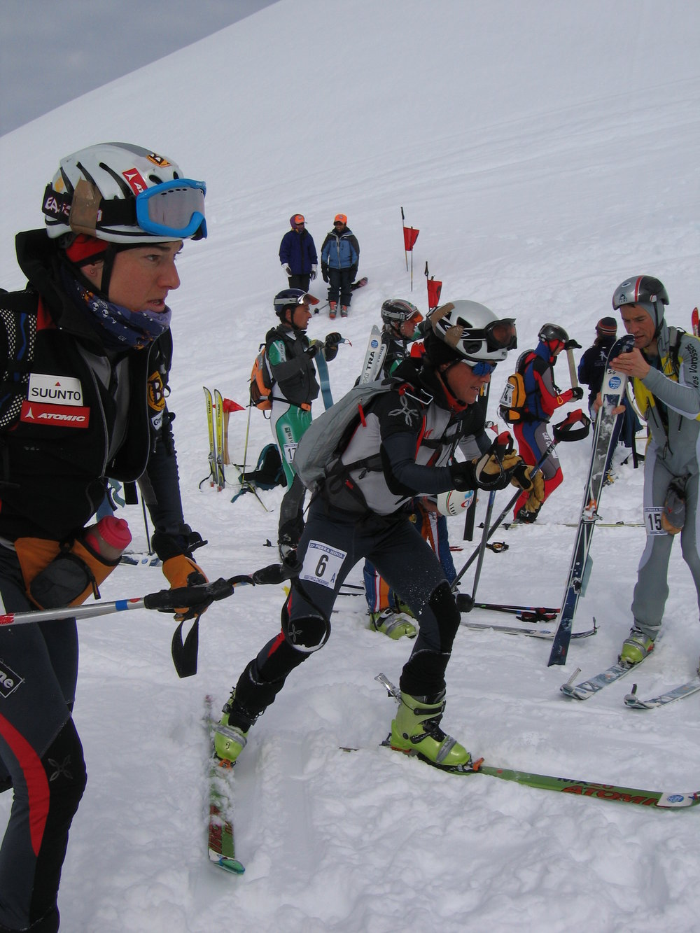 Jeannie Wall skier