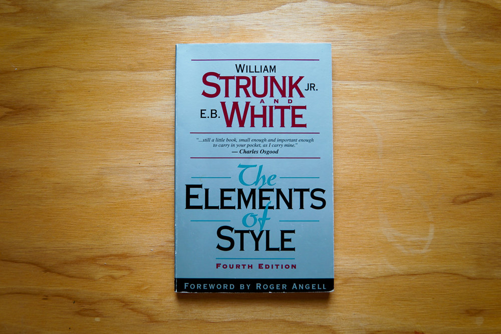 bookswritingelementsofstyle