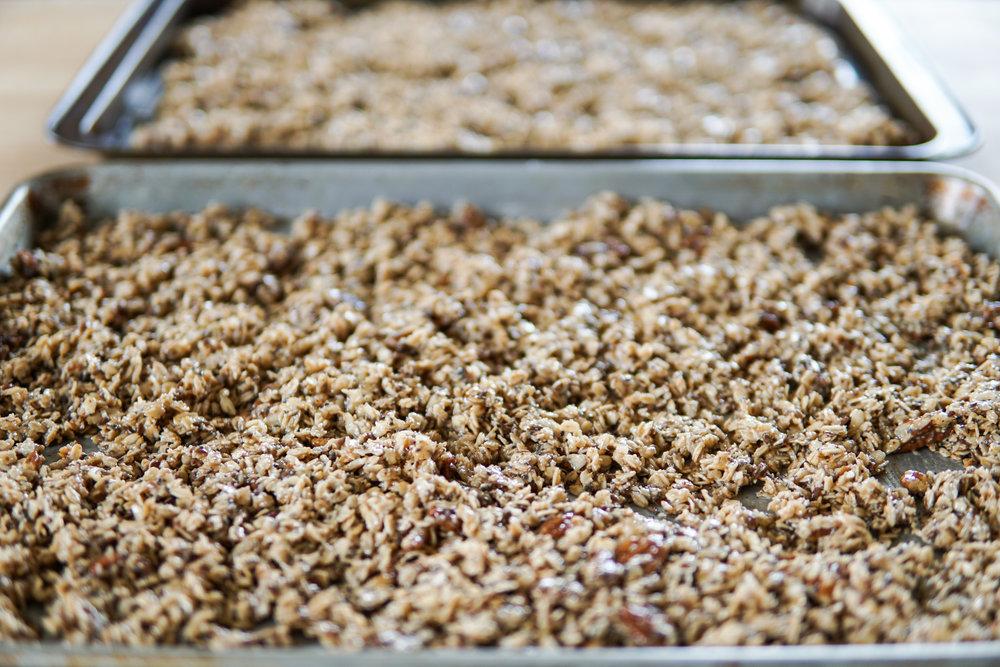 healthy easy recipe granola