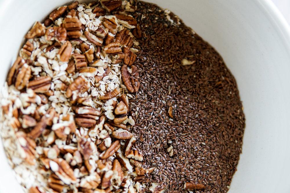 healthy ingredients protein rich granola