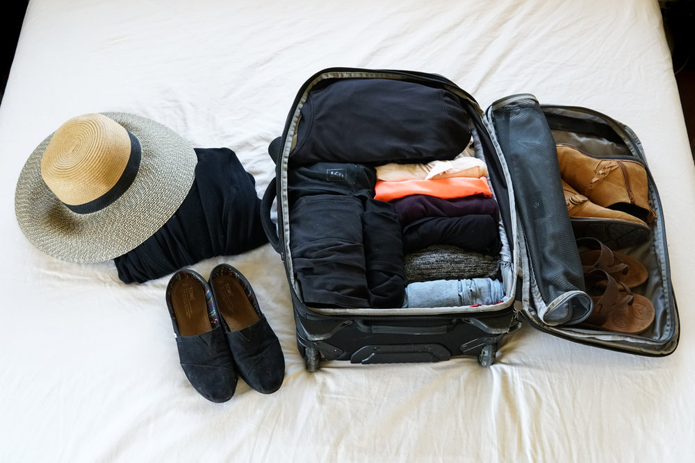 Packing with climbing and regular clothes.jpg