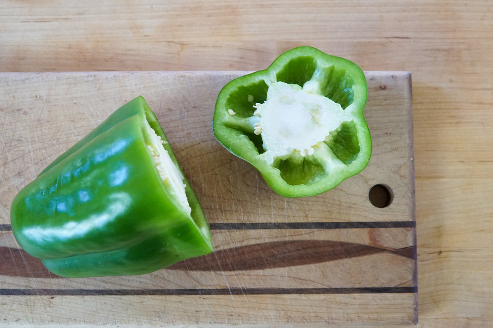 Stuffed pepper yams easy