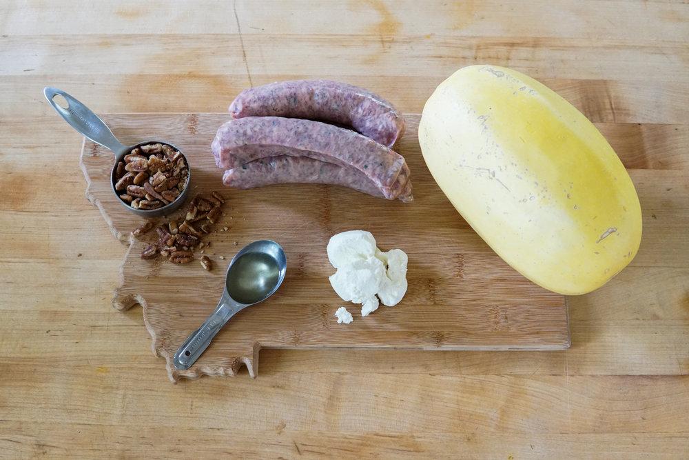 Squash sausage paleo food climbing ingredients.jpg