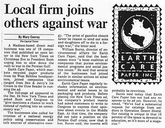 December 26, 1990, Madison Capital Times