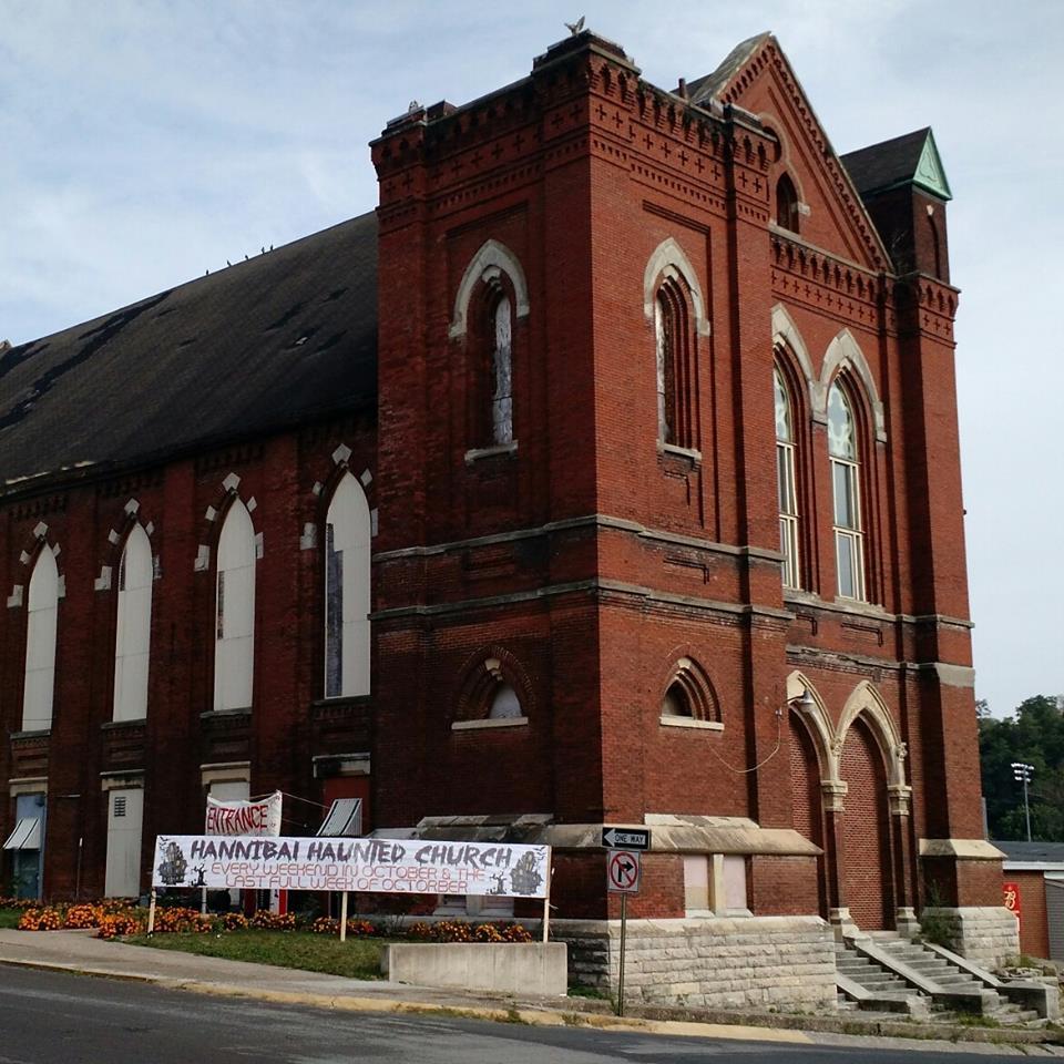 October 6th & 7th: Haunted Hannibal Church - 7-11pm at the Haunted Hannibal Church on 515 Lyon St.