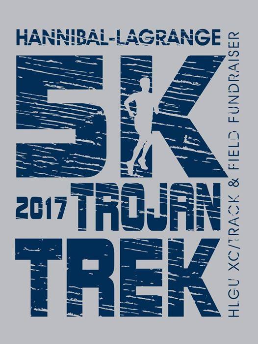 October 7th: Trojan Trek 5k - 9am-12pm at Hannibal LaGrange University on 2800 Palmyra Road.