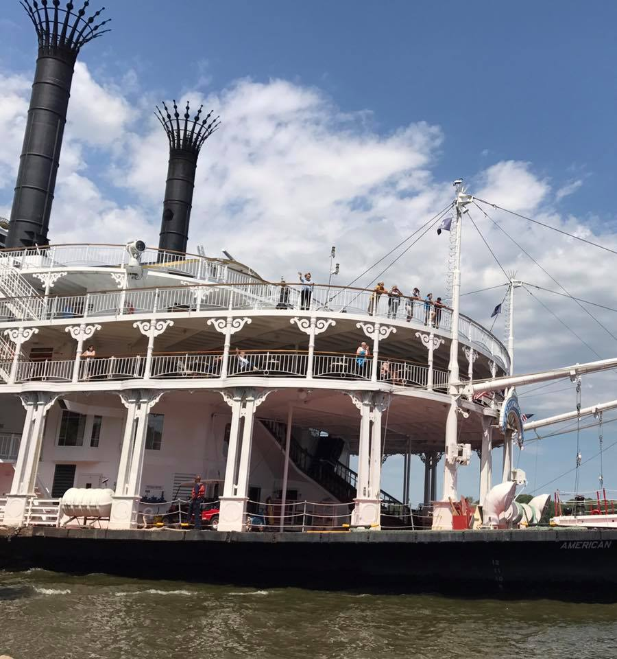 October 13th (CANCELLED): Louisiane Riverboat Docking - 10am-5pm at Glascock's Landing