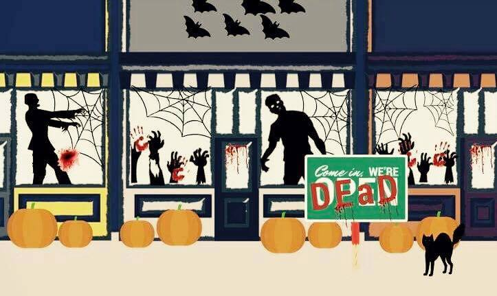 Living Dead Windows - October 28th from 5-8pm in downtown Hannibal. Similar to Christmas Living Windows. . . but dead.