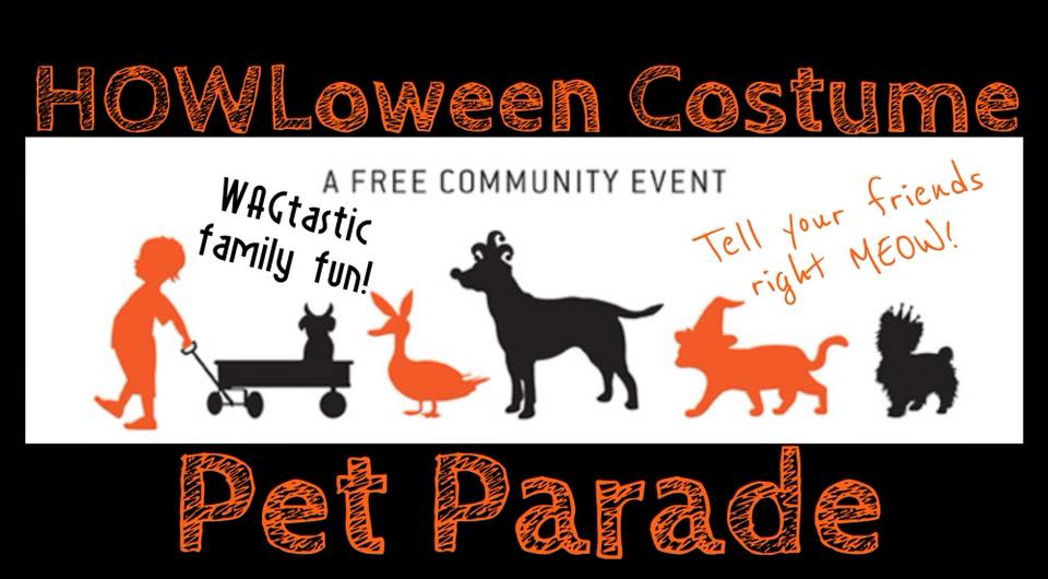 HOWLoween Costume Pet Parade - October 28th at 6:30. Enjoy a view from Main of all the Jaycees Halloween Parade festivities preceded by the HOWLoween Pet Parade.