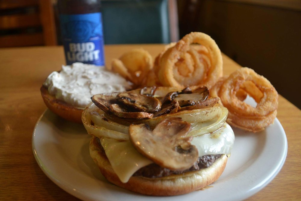 Week 9 Winner - French Onion Burger