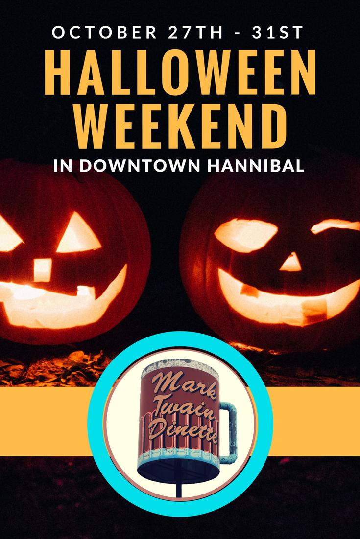 Halloween Weekend in Downtown Hannibal