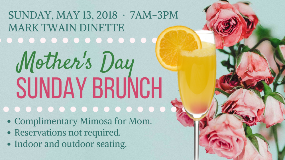 Hannibal, MO Mother's Day Brunch