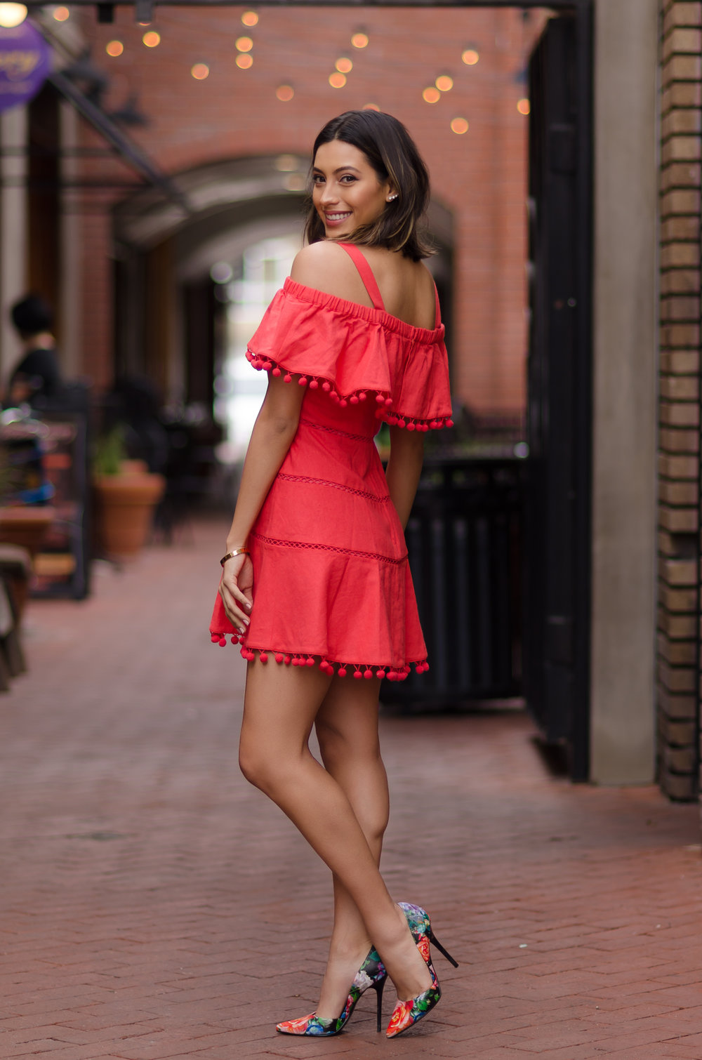 Dress:  Red Carter //Shoes:  Steve Madden //Photos:  Miguel Chavez