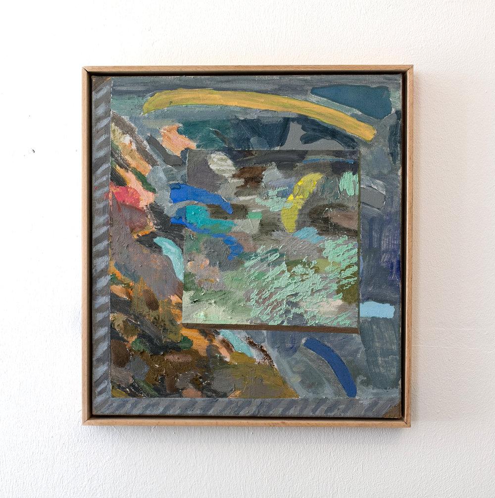 Painting of a coastline