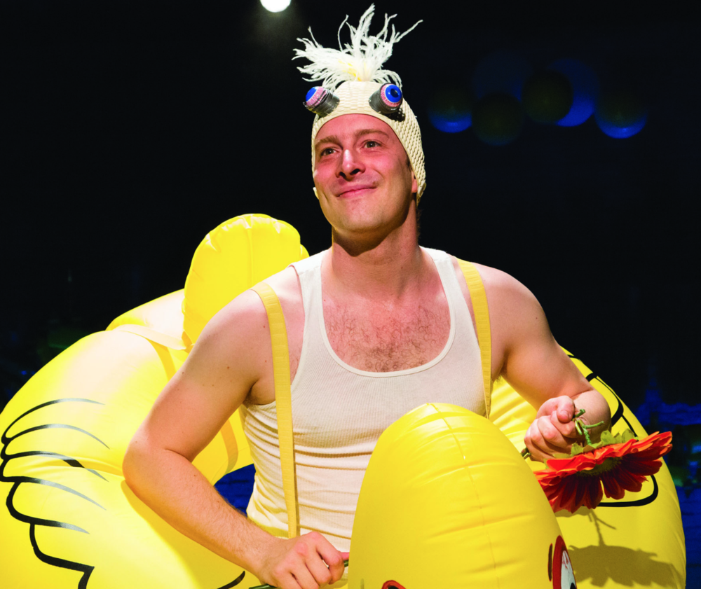 Scott Sheppard as The Ugly Duckling. Photo by Mark Garvin.
