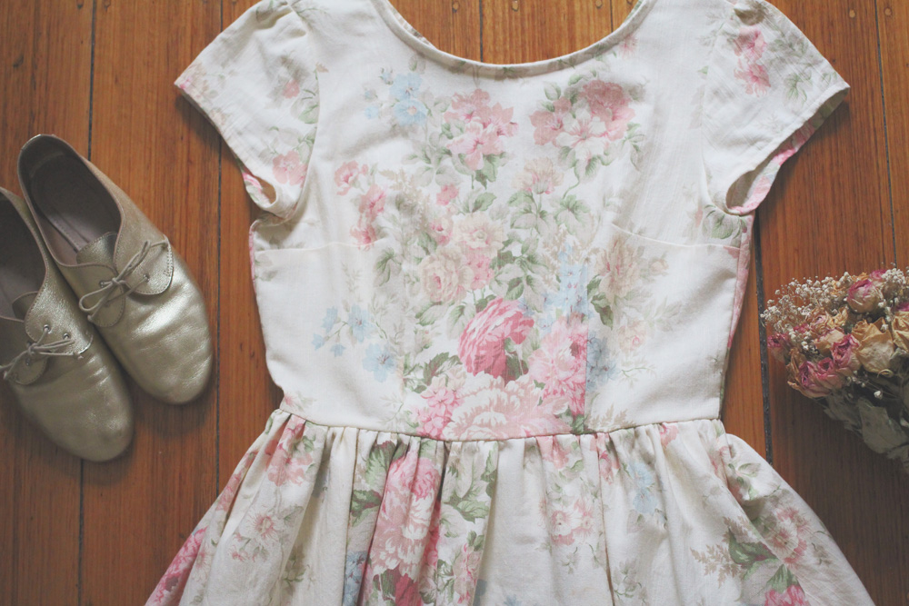 A Rosery Apparel dress that is 100% sustainable,ethical, and handmade by me -available for purchase here.