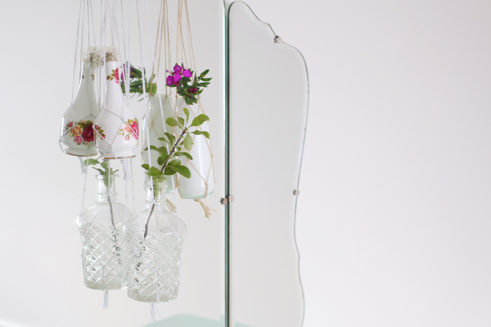 Easy Macrame Hanging Vases Rosery Apparel