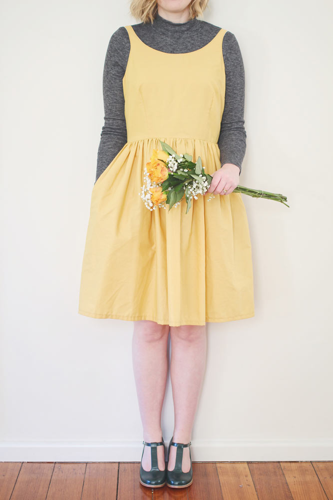 rosery apparel eva dress mustard
