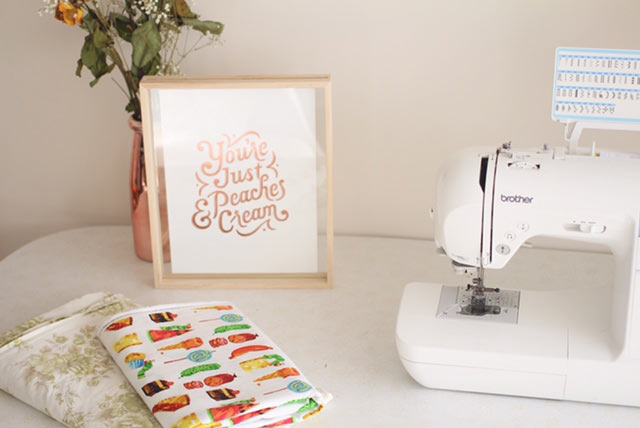 rosery apparel sewing table