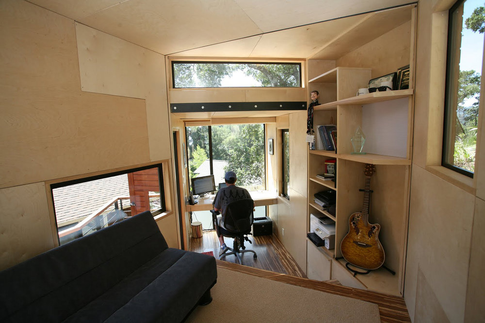 home office studio. Mike At Cockpit.jpg Home Office Studio