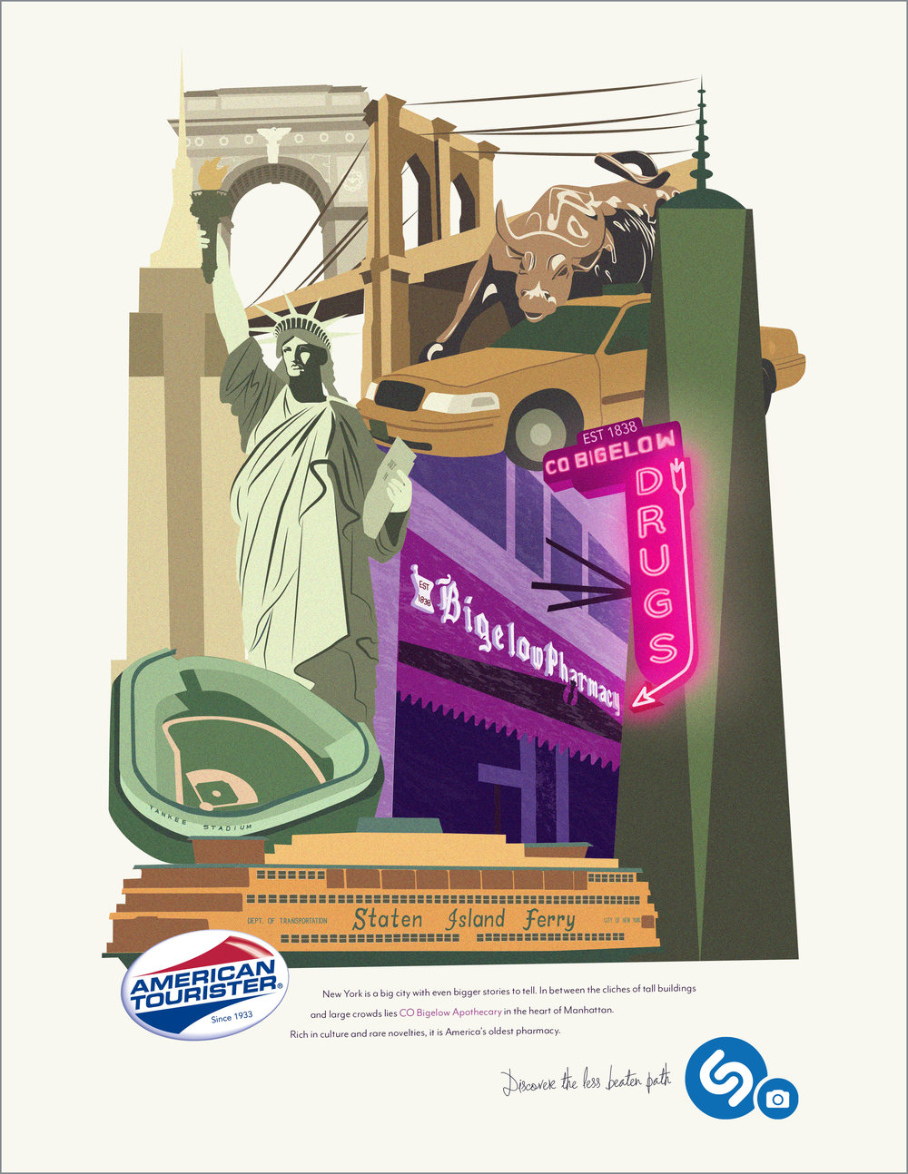 New York is a big city with even bigger stories to tell. In between the cliches of tall buildings and large crowds, lies CO Bigelow Aparthcathy in the heart of Manhattan. Rich in culture and rare novelties, it is America's oldest pharmacy.