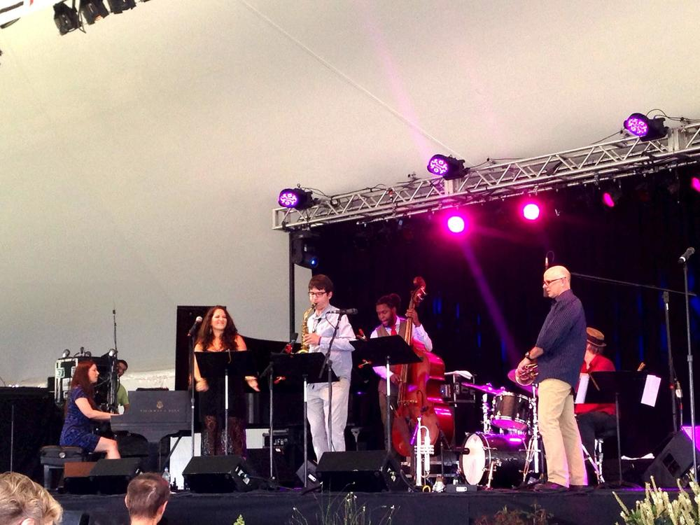 Carmen Staff Sextet at Litchfield Jazz Fest
