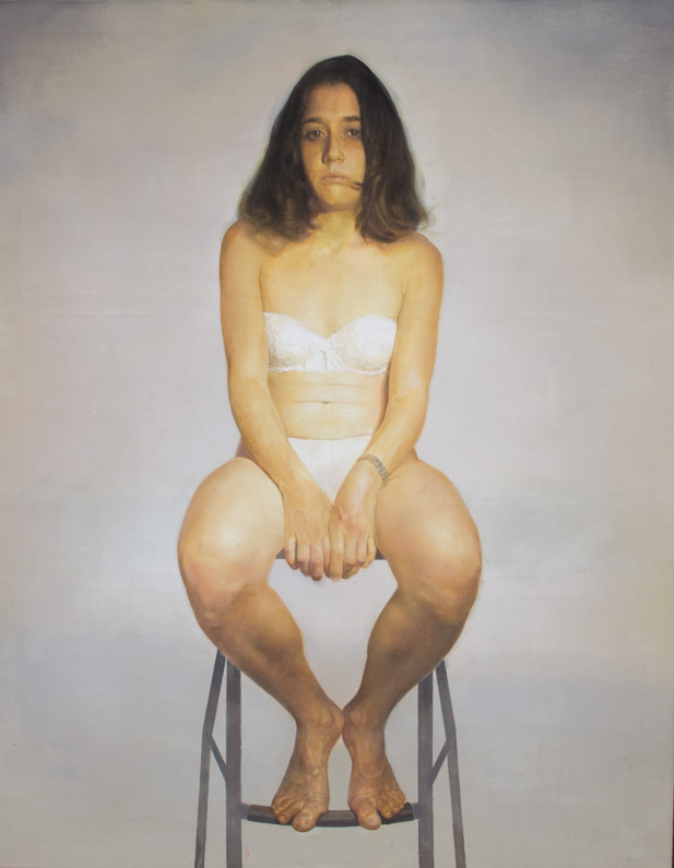 Natalia, oil on canvas 2014