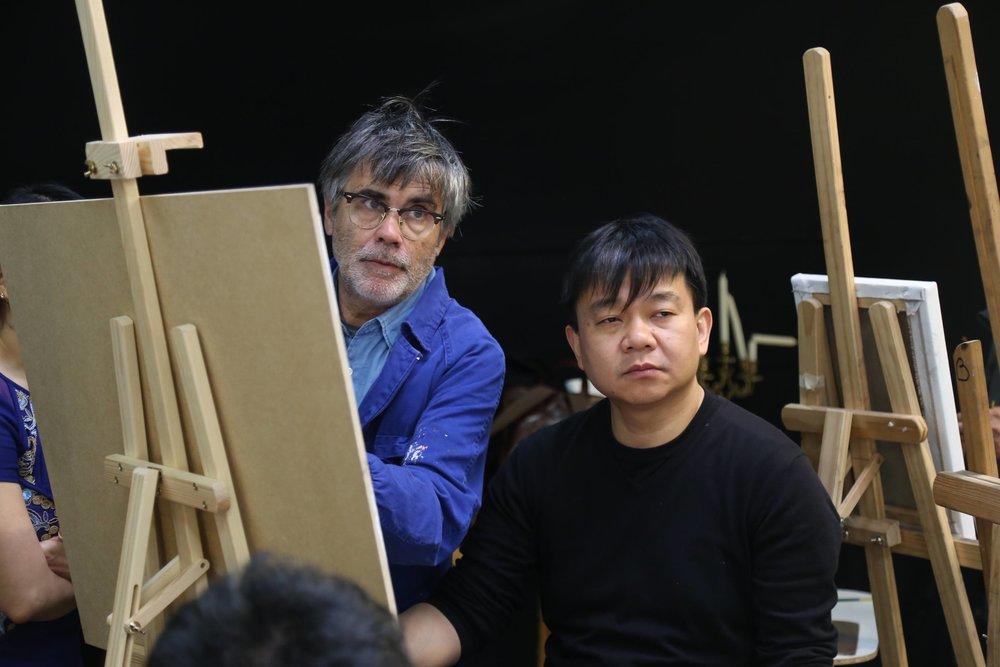 Golucho 2018 Workshop  格鲁仇指导艺术家作画9.jpg