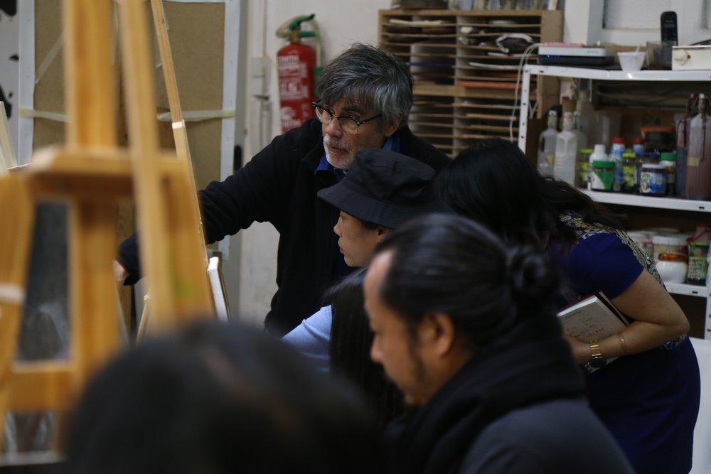 Golucho 2018 Workshop  格鲁仇指导艺术家作画15.jpg