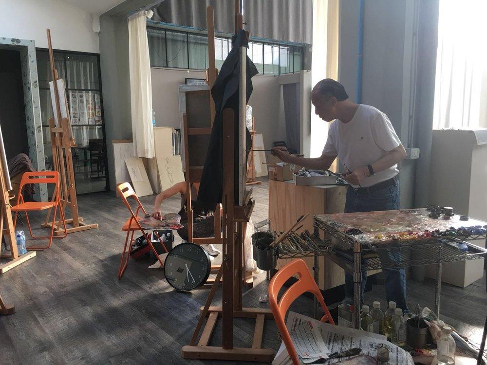 Xu Mangyao TIAC artist residency studio4.JPG