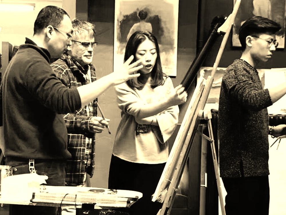 MASTER WORKSHOPS  - TIAC organises workshops with some of the greatest living Fine Art Masters, aimed at very serious students and established artists.  So far in 2017 we have run workshops that included the famous Spanish painting masters Antonio Lopez-Garcia and Golucho, and Norwegian master Odd Nerdrum.
