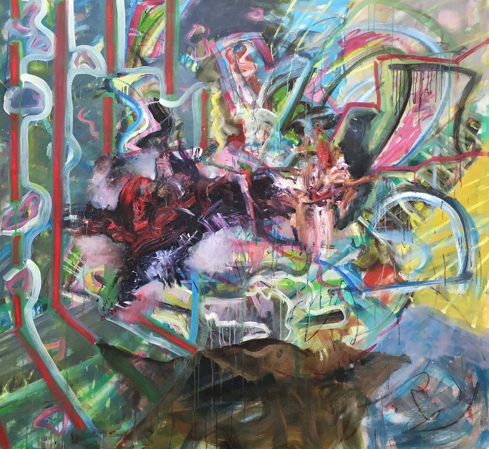 Jakob Veigar Sigurdsson- Some thing in space-2018-155x160cm-oiloncanvas.jpg