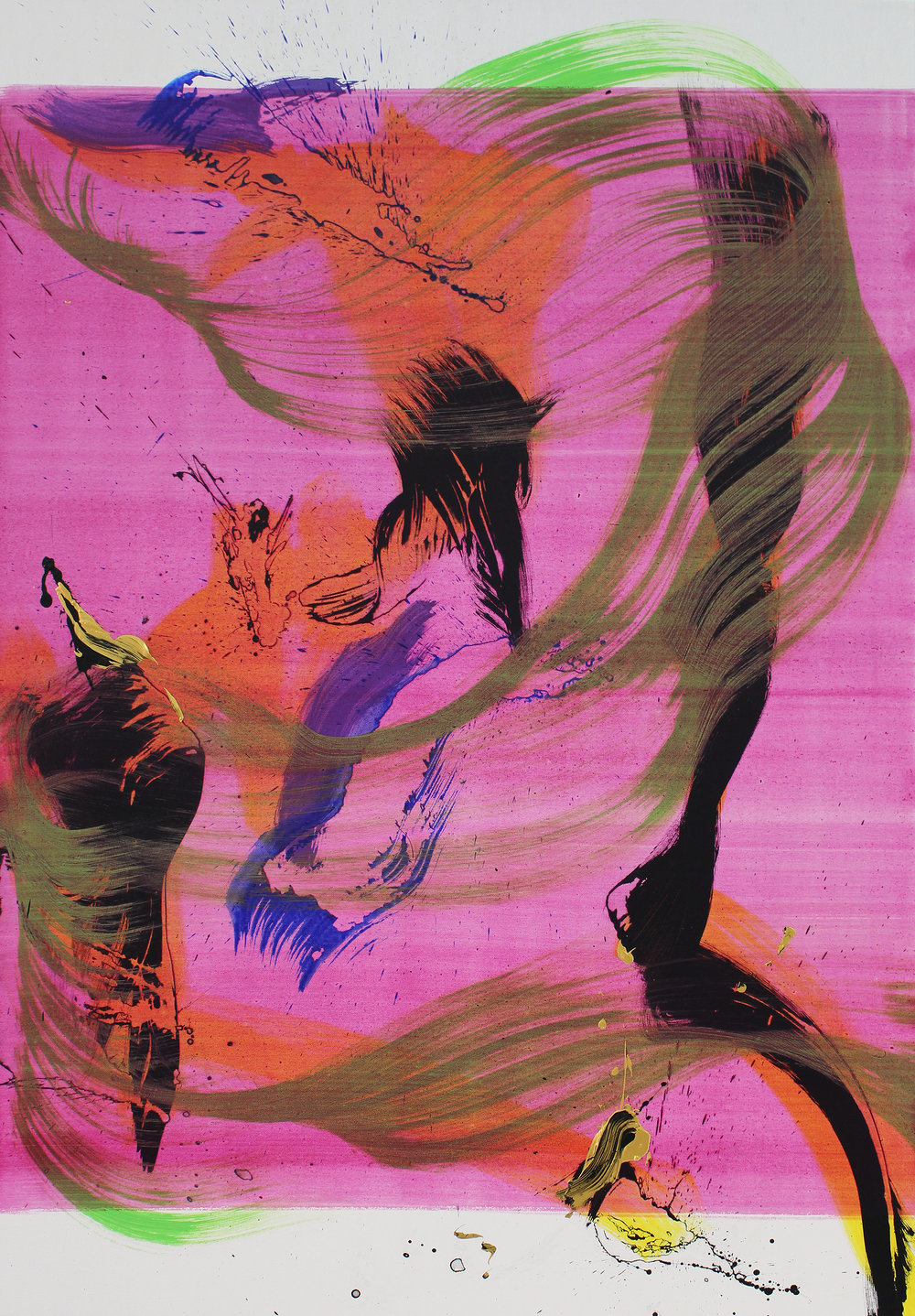 Juan Olivares-Barricade XIV-2018- 130 x 90 x 4 cm-Acrylic on canvas.jpg