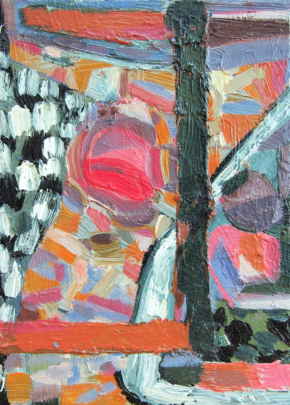 Mark Jeffreys - Ball Play - 2014 - oil on gessoboard - 13x17cm.jpg