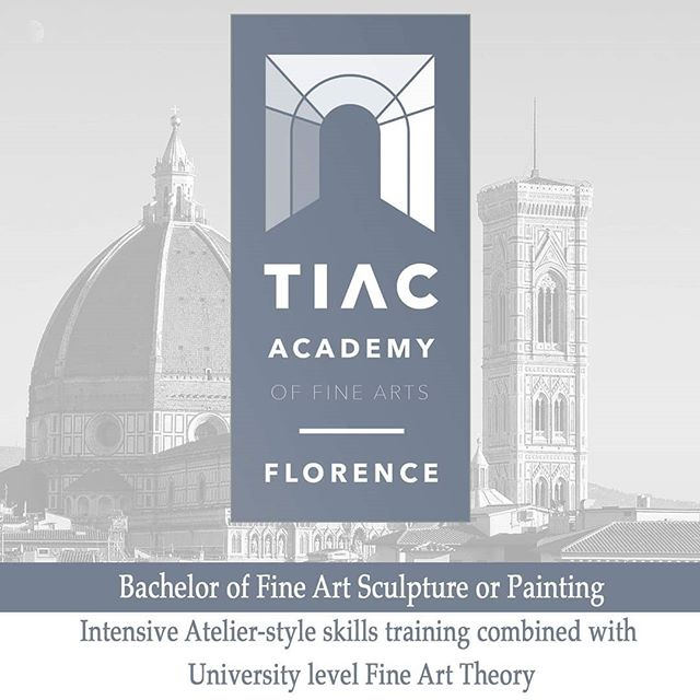 We are thrilled to announce this new and important initiative!  Today this account is shifting to you TIAC Academy of Fine Arts Florence. Our 3 year Bachelor of Fine Art Programs in Sculpture or Painting, as well as our Pre-Academic Program offers credits in the ECTS (European Credit Transfer System) through the European Accreditation Board of Higher Education Schools (EABHES.  TIAC Academy of Fine Arts combines intensive atelier-style skills training combined with university-level fine art theory.  Click link in bio to enroll! . . .  #tiacacademy #igersfirenze #igers_firenze #oilpainting #sculpture #atelier #bachelor #florence #allaprima