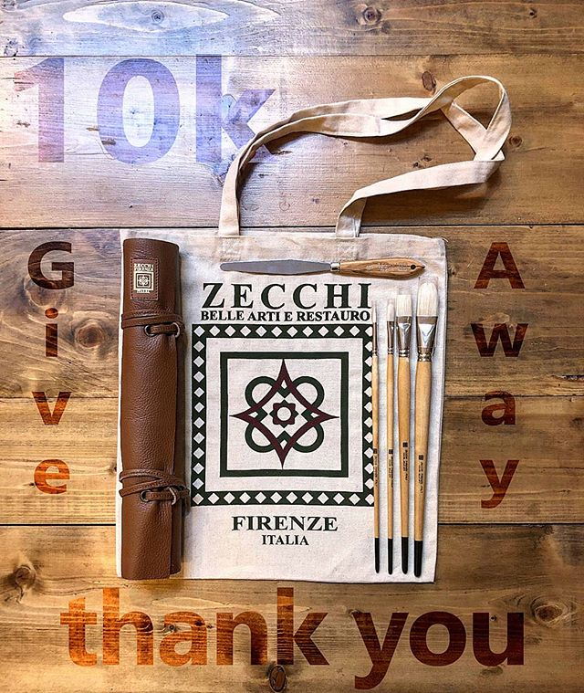 🎉10K GIVE AWAY🎉  THANK YOU SO MUCH!  We haver reached 10K+ followers and we want to honor you with this amazing Give Away worth 80€ sponsored by #zecchi , one of the best Art Shops in Florence.  If you win you'll get a leather brush roll holder, 4 Zecchi high quality brushes, one pallet knife and a beautiful Zecchi fabric bag.  To participate you have to: - Like this post ❤️ - Write in the comments below your location and tag 3 friends who might also love these items 😉 - Follow @tiacacademy💪🏼 - Follow @tiacgroup💪🏼 - Share the post on your stories 🙌🏻 The winner will be announced on January 18th . . .  #tiacacademy #tiac #giveaway #oilpaint #zecchifirenze #zecchiwatercolor #igersfirenze #igers_firenze