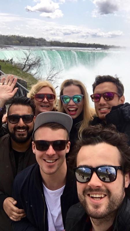 Team LX @ Niagara Falls